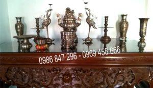 bộ đồ thờ cúng Việt nam