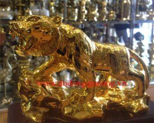Ý nghĩa của tượng hổ bằng đồng trong phong thủy