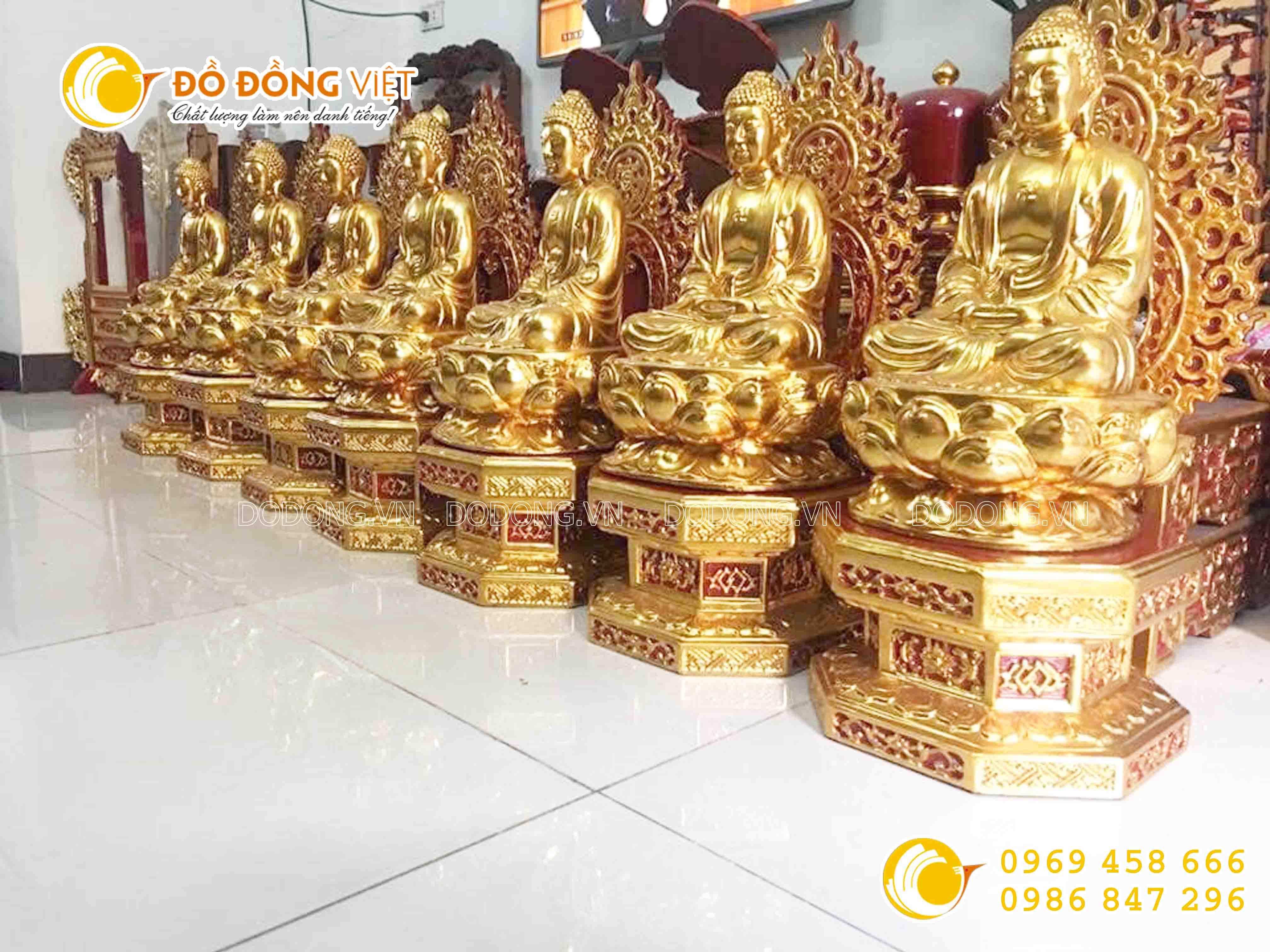Nghệ thuật dát vàngtrong tạo tác tượng Phật