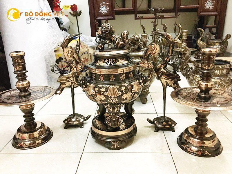 Đồ đồng Việt- địa chỉ đúc đồng truyền thồng, cơ sở sản xuất đồ đồng thờ cúng uy tín